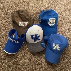 Kentucky Baseball Cap Bundle
